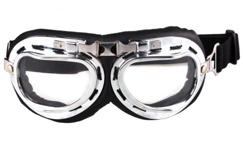 Wholesale price classical aviator motorcycle goggles with CE certificated