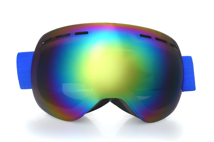 New style lens interchangeable ski goggles for teenager using