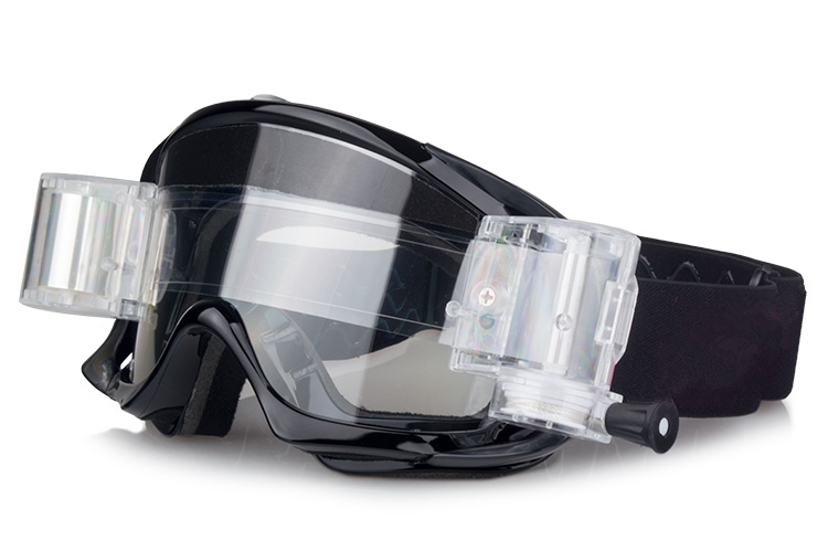 Ski goggles and motocross goggles