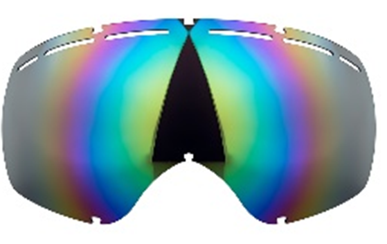 The color of lenses about the snowboard goggles