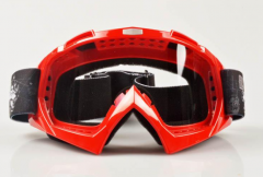 Anti-fog clear lens CE FDA best motorcycle goggles