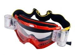 New customized straps roll off motocross goggles