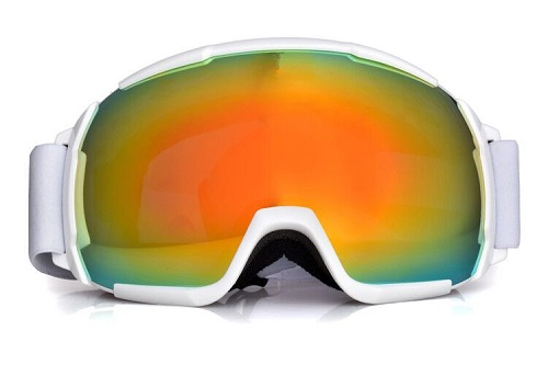 2019 new style best mens ski goggles with REVO coating lens