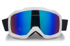Wholesale frame white ski goggles with CE approved
