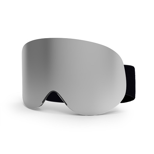 New mirrored ski goggles with anti fog function