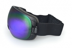 Wholesale lens interchanged spherical youth ski goggles