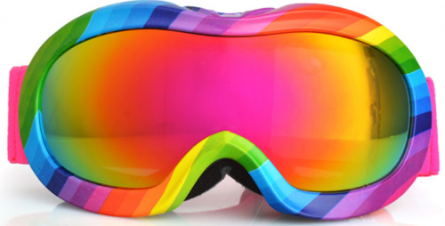 Top kids ski goggles with water transfer frame