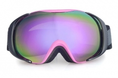 Wholesale price best ski goggles for flat light, ski goggles with REVO blue lens