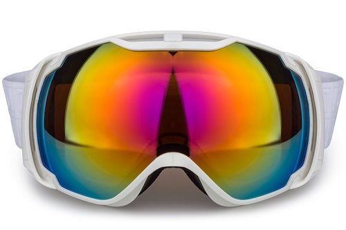 China supplier best ski goggles under 100, snow gogles with revo lens