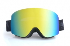 New cylindrical model ski goggles with REVO coating