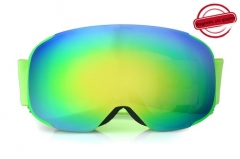 Wholesale new full REVO lens magnetic ski goggles with CE approved
