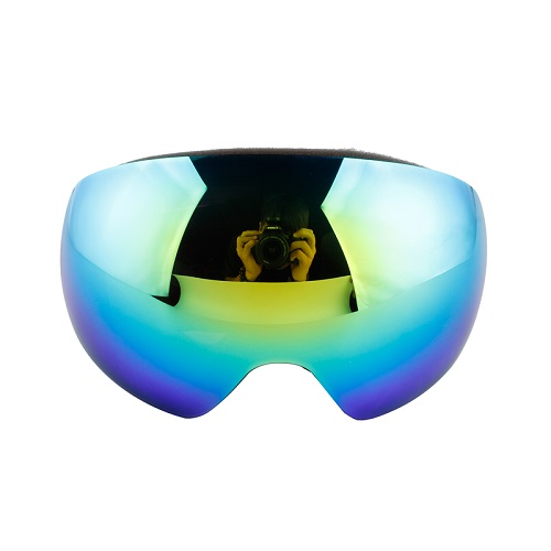 Lens interchanged frameless best ski goggles
