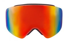 Full REVO lens wholesale frameless snow goggles