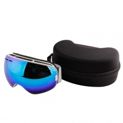 China frameless size large ski goggles mill with ISO certificated