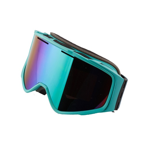 New magnetic lens interchanged reflective ski goggles | Cusotmized ski goggles changeable lenses