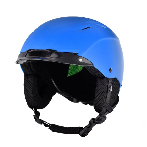 Best youth snowboard helmet sale,blue snow helmet and ski helmet with goggles