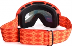 Orange frame good snowboard goggles with REVO lens