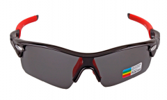 Red and black frame new style mens sports sunglasses