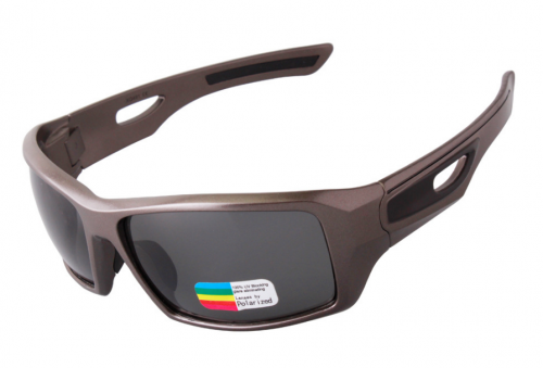 Grey frame wholesale polarized sport glasses
