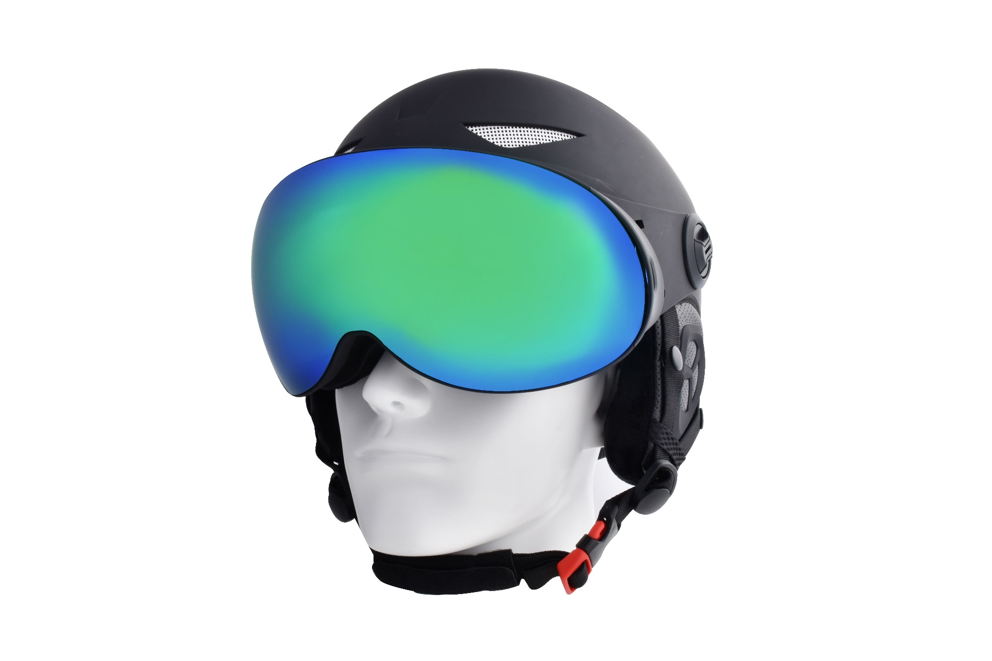 About the ski helmet