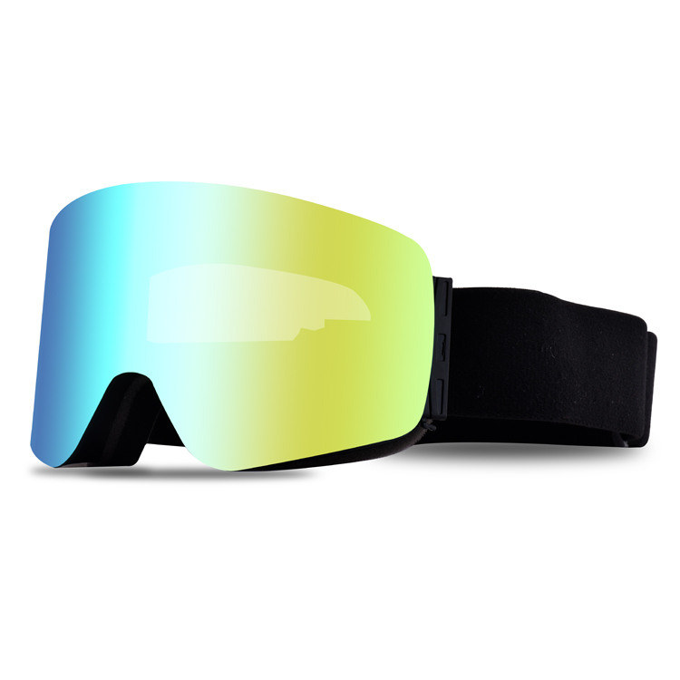 Why the new skier need to wear ski goggles?