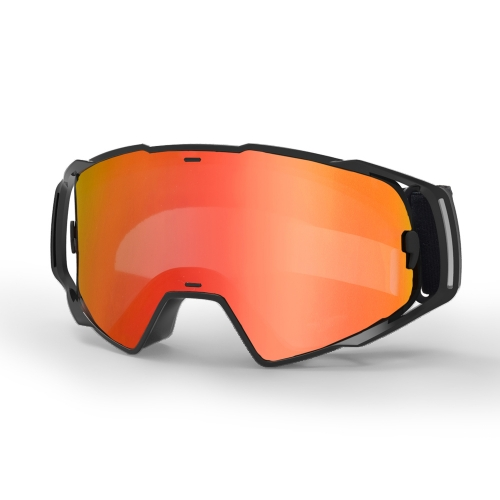 Hot sale wholesale racing goggles with revo coating lens