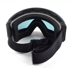 New style wholesale best photochromic ski goggles, magnetic style best frameless ski goggles