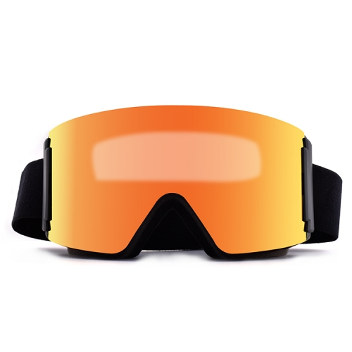 2019 Winter magnetic best price ski goggles with full REVO lens