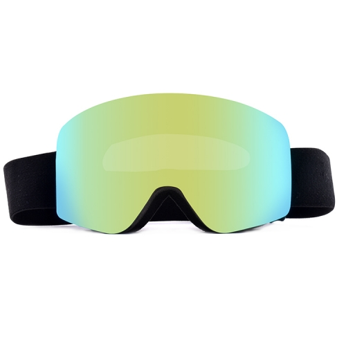 Factory frameless magnetic snow ski goggles | new prescription snowboard goggles