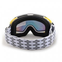 2020 style magnetic kids anti fog goggles, kids ski goggles for glasses
